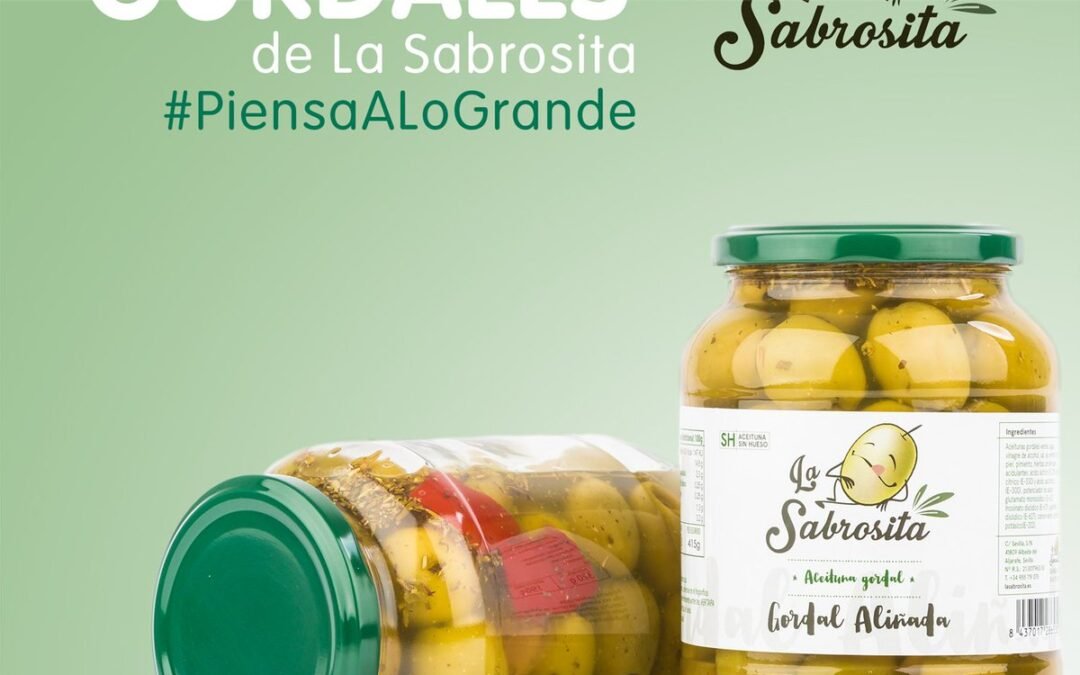 Para los que siempre quieren lo máximo: nuevas Aceitunas La Sabrosita Gordales aliñadas 💪 Llévatelas a casa cuando visites @CarrefourES o pídelas cómodamente desde tu sofá 👉 http://www.lasabrosita.es #aceitunas #gordales #aliñadas #aperitivos #olivas #España #Andalucía #Sevilla