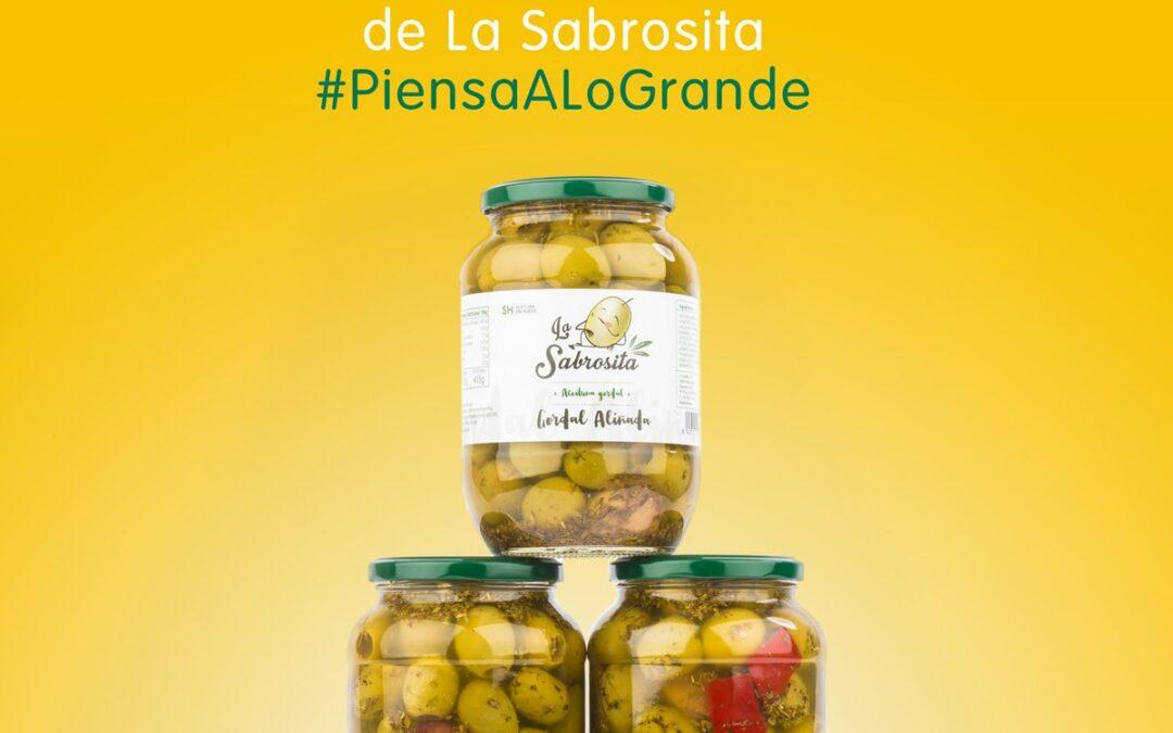 Lo bueno, si es GRANDE, dos veces bueno 😁 ¡Nuevas Aceitunas La Sabrosita GORDALES. ¡Disponibles en Carrefour y en 👉 http://www.lasabrosita.es! #PiensaALoGrande #aceitunas #aperitivos #olivas #gordal #verano #salud #gastronomía #alimentación #España #Andalucía #Sevilla #Aljarafe