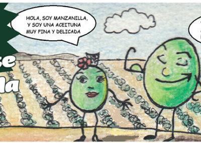 Las aventuras de Gordalete y Manzanilla