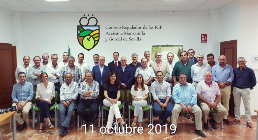 Constitución Pleno definitivo del Consejo Regulador de las Indicaciones Geográficas Protegidas de la Manzanilla y Gordal Sevillana. 1