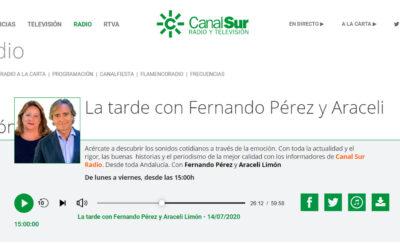 Entrevista en Canal Sur Radio a D. Juan Luis Oropesa