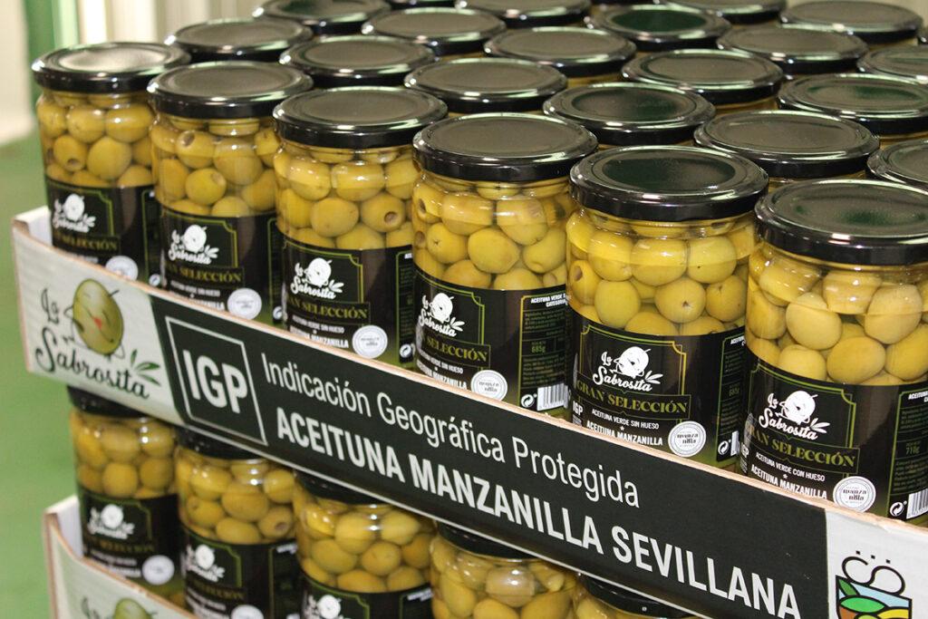 ¡YA ESTÁN AQUÍ!. Tenemos la satisfacción de anunciaros la presentación de los primeros envases con IGP Aceitunas Manzanilla de Sevilla en el canal distribución. 1