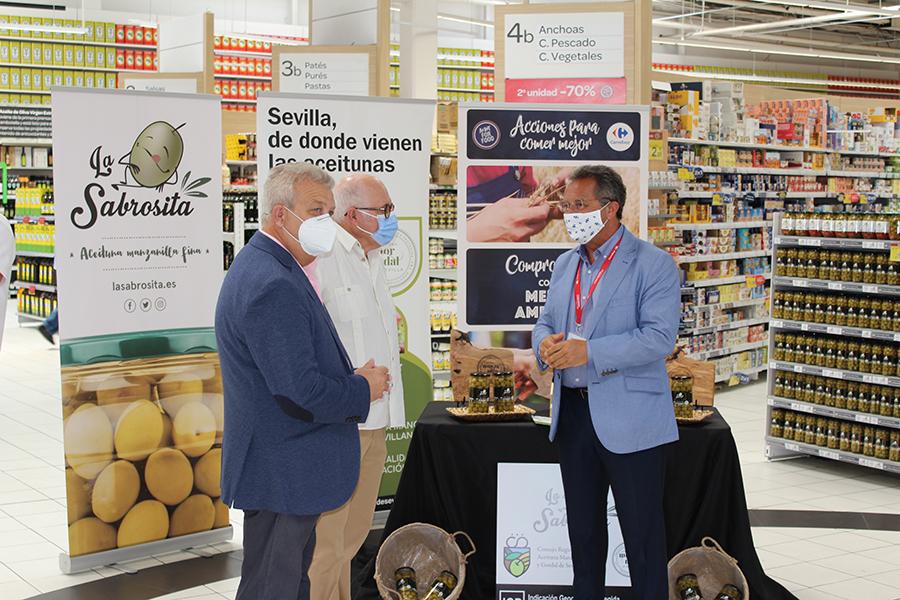 La gran distribución apuesta por las aceitunas sevillanas con Indicación Geográfica Protegida (IGP), Manzanilla de Sevilla 5