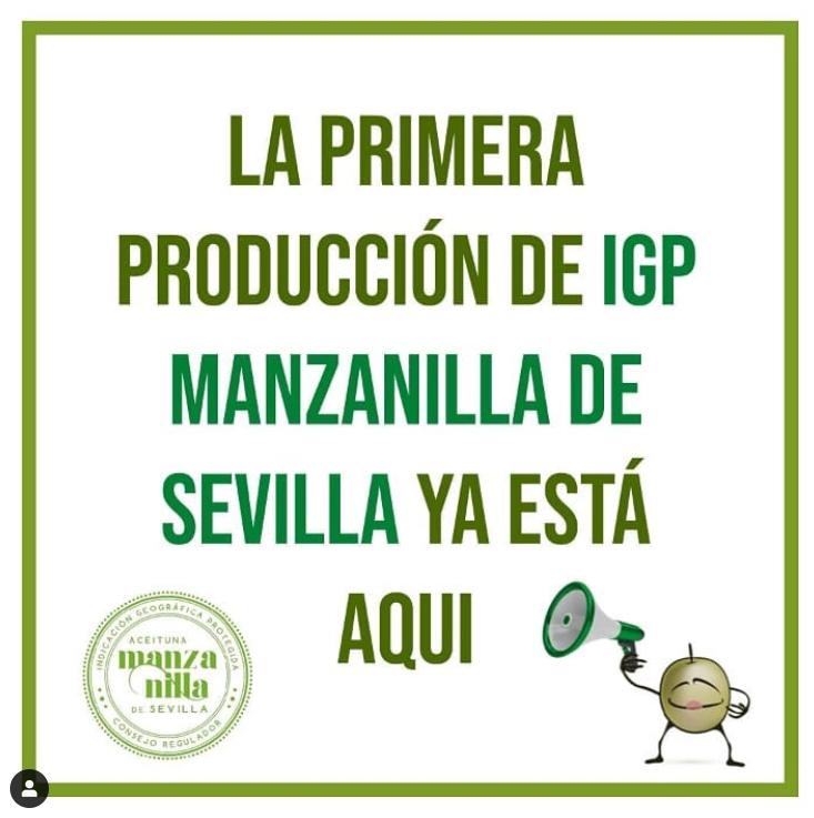 ¡YA ESTÁN AQUÍ!. Tenemos la satisfacción de anunciaros la presentación de los primeros envases con IGP Aceitunas Manzanilla de Sevilla en el canal distribución. 3