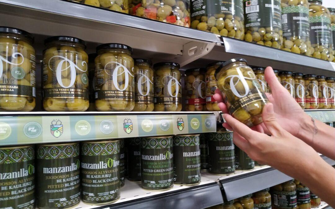 ¡Las primeras aceitunas de Manzanilla Olive con la Indicación Geográfica Protegida Manzanilla y Gordal de Sevilla, ya están envasadas!