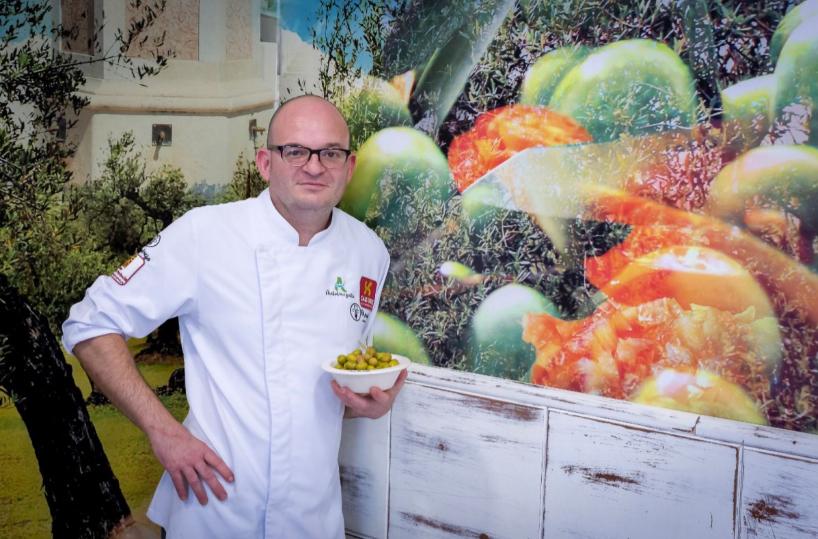 Aplicaciones de la aceituna y el mosto en la cocina: Luis Portillo, el Chef de las Aceitunas. 1