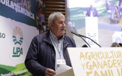 El 10º Congreso de UPA reelige a Lorenzo Ramos para un nuevo y último mandato en la organización agraria